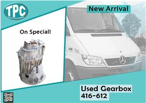 Mercedes Benz Sprinter Used Gearbox 416-612 for sale at TPC