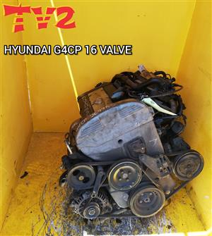 HYUNDAI- G4CP 16V ENGINE FOR SALE