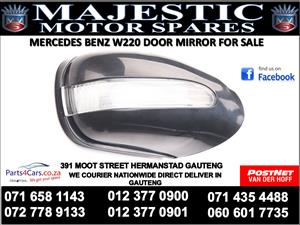 Mercedes benz w220 door mirror for sale