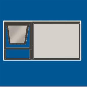 Window: Aluminium