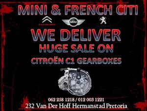 Citroen c1 Gearbox for sale