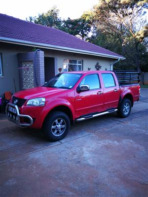2012 GWM Steed 5 2.5TCi double cab Lux