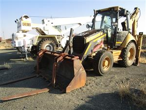 CAT 422E TLB - ON AUCTION