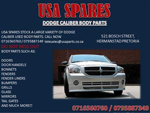 DODGE CALIBER USED BODY SPARES FOR SALE