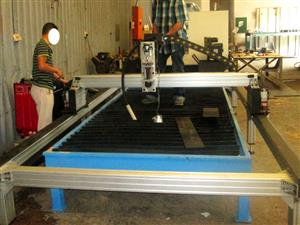 P-2030V MetalWise Standard CNC Plasma Cutting Table 2000x3000mm Servo Motors Barebone Unit