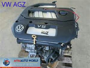 Imported used VW GOLF/PASSAT 2.3L 5CYL V5, AGZ engine Complete