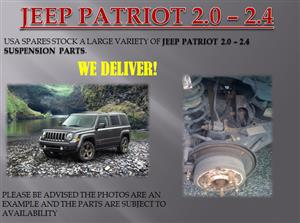 JEEP PATRIOT 2.0/2.4 SUSPENSION PARTS (FOR SALE)