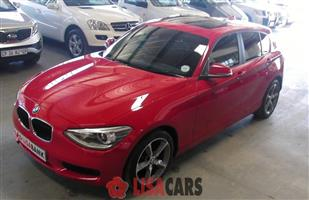 2015 BMW 1 Series 116i 5 door auto