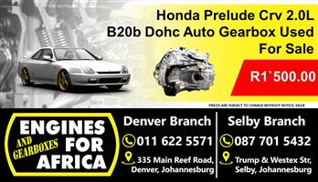 Honda Prelude 2.0L B20b Auto Gearbox Used For Sale
