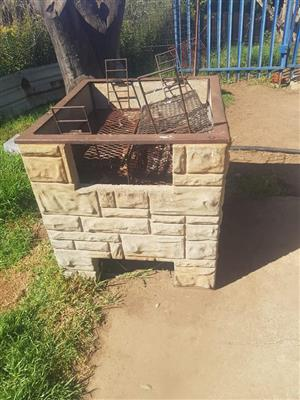 Large cement braai for sale