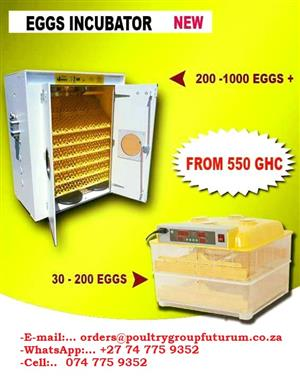 60 Egg Bed Semi Automatic Incubator.