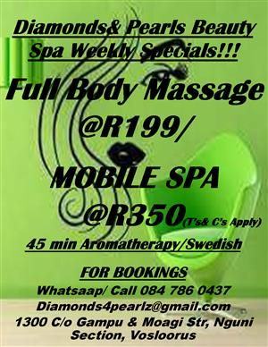Spa Treatment Specials