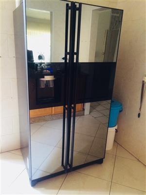 Samsung glass fridge