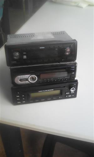 Car radios x3