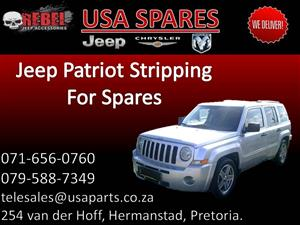 Jeep Patriot (silver) Stripping for Spares.
