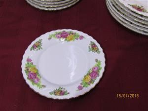 English Rose, Regent China Side plate (R98 each)