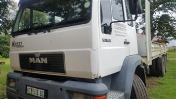 15ton double axle Man truck