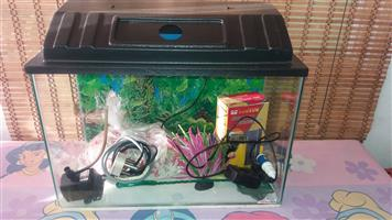 Brand New 30l fish tank & all accesories