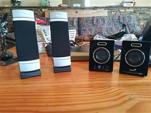 Laptop or computer speakers