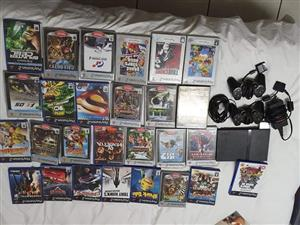 Playstation 2 met baie games