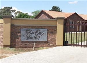AVAILABLE 1ST JUNE! 2Bed, 1Bath Townhouse To Let In Silver Oaks, Riversdale, Meyerton!