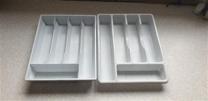 Cutlery Trays, Price is for both