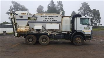 Concrete Volumetric Mobile Batching Plant