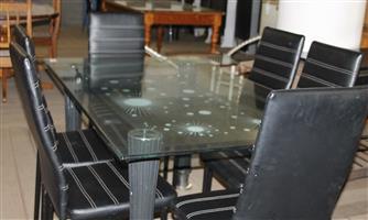 7 piece dining room suite S030713A #Rosettenvillepawnshop