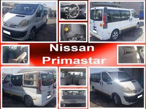 Nissan Primastar spares for sale.