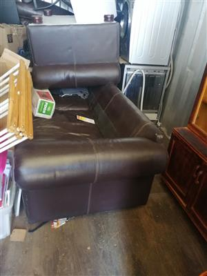 Leather couch Rocestor set