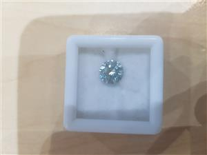 1.41 ct Loose Moissanite for sale