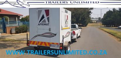 TRAILERS UNLIMITED AFRIMAT MOBILE KITCHEN.