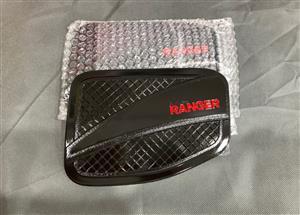 Ford Ranger Fuel Tank Cap Cover - Gloss Black