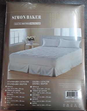 Brand new Simon Baker mattress protector