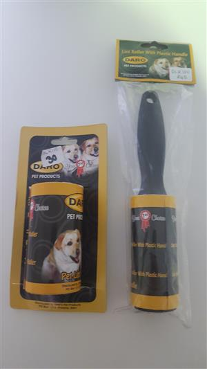Lint rollers , Lint roller refills and tooth brushes available at PETS4LIFE BRACKENFELL
