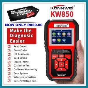 BLACK FRIDAY SPECIAL: OBD2 Scanner KONNWEI Code Reader Auto Diagnostic Code Scanner for Engine NOW IN STOCK!!
