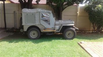 1947 CJ2A Willys Jeep. Mint Condition Fully Restored with Papers