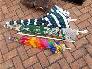 Beach umbrellas x 3
