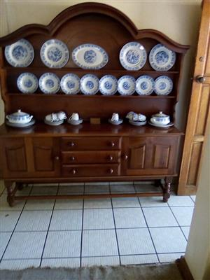 Dining table and chairs and dresser. We are in Northern Natal, Utrecht