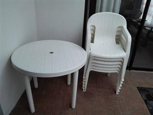 Patio set for sale
