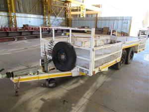 Double Axle Trailer - 5 m Long Heavy Duty
