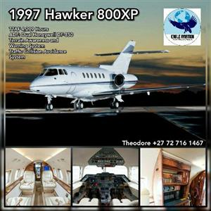 1997 HAWKER 800XP PRICE REDUCED