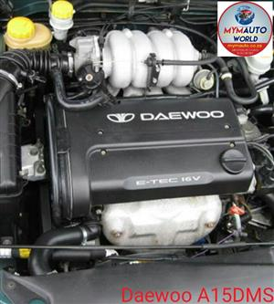 Complete Second hand used engines, DAEWOO NUBIRA 1.5L DOHC, DAEWOO A15DMS