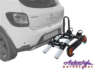 Holdfast 2Bike tilting Platform Carrier  The Holdfast Platform is a towball mounted bike carrier built for function and durability.