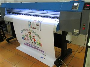 F-1867/AQUA FastCOLOUR 1860mm EPSON® DX7 Printhead Large-Format Water Based Dye or Pigment