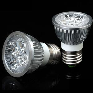 4W LED Downlights / Spotlights, Hi-Power Epistar 220Volts E27 Socket Base. Brand New.