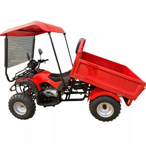 NEW 200cc UTILITY QUAD with TIPPER & DROP SIDES