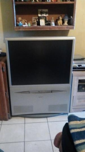 Large Toshiba tv for sale.