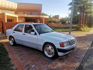 1989 Mercedes Benz 190