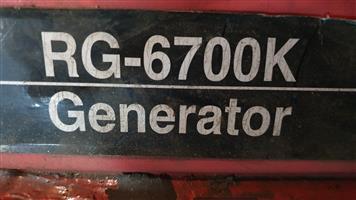 Ryobi 6700 Generator